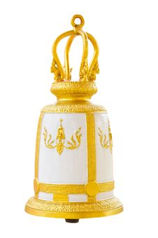 Free Thai Bell On Isolated Background Royalty Free Stock Image - 19493576