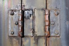 Free Colorful And Rusty Hinges Under The Florida Sun Royalty Free Stock Image - 19493966