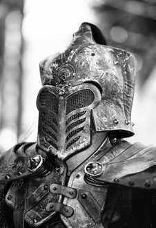 Free The Black Knight Stock Image - 19494011