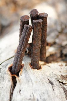 Free Iron And Wood Royalty Free Stock Photos - 19494148
