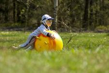 Child On The Meadow