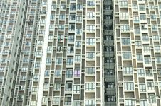Many Balconies Of A Building Stock Photography