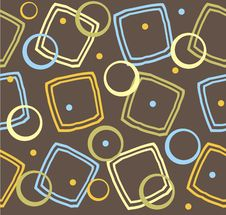 Free Retro Seamless Pattern In Vector Royalty Free Stock Photo - 19495325