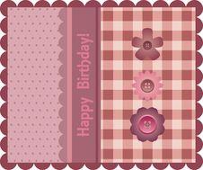 Free Birthday Card Stock Photo - 19496490