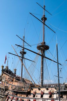 Free Pirates Galleon Royalty Free Stock Photo - 19496945