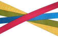 Free Coloured Belts Stock Images - 19498034