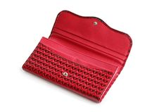 Free Red Open Change Purse Royalty Free Stock Photo - 19498055