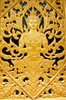 The Temple S Door Royalty Free Stock Photography