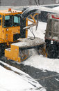 Free Snowblower In Action 3 (snowing In Same Time) Royalty Free Stock Photo - 1951355