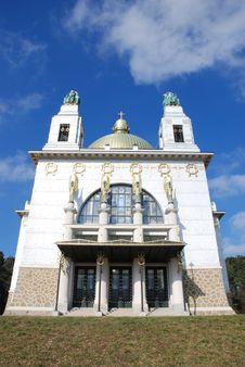 Free Otto Wagner Church Stock Photo - 1951070
