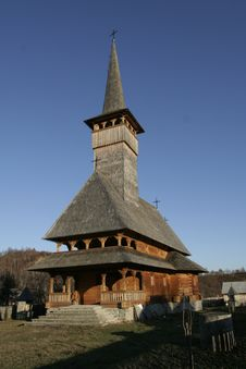 Free Wooden Church Front View I Stock Photos - 1951703