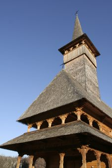Free Wooden Church Front View Detail Stock Photos - 1951753