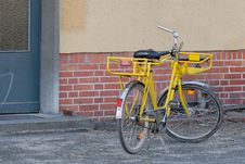 Free Mailmen Bicycle Stock Photo - 1952140