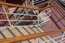 Free Sunny Stairway Royalty Free Stock Photo - 1953045