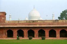 Free Taj Mahal Royalty Free Stock Photography - 1953337