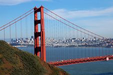Free Golden Gate Skyline Royalty Free Stock Images - 1953439