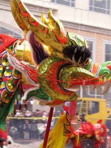 Free Dancing Dragon Stock Images - 1953504