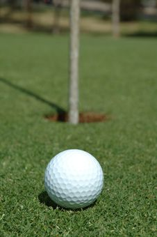 Free Ready To Putt Stock Image - 1953531