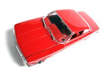 1962 Chevrolet Belair Metal Scale Toy Car Fisheye Royalty Free Stock Photography