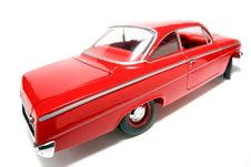 1962 Chevrolet Belair Metal Scale Toy Car Fisheye 2 Royalty Free Stock Photography