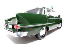 Free 1961 German Opel Kapitän Police Scale Car Fisheye Stock Images - 1954784