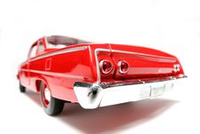 Free 1962 Chevrolet Belair Metal Scale Toy Car Fisheye 4 Stock Photography - 1954812