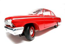 1962 Chevrolet Belair Metal Scale Toy Car Fisheye 6 Stock Images