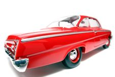 1962 Chevrolet Belair Metal Scale Toy Car Fisheye 8 Stock Photography
