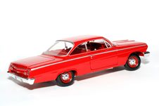 Free 1962 Chevrolet Belair Metal Scale Toy Car Royalty Free Stock Image - 1954886