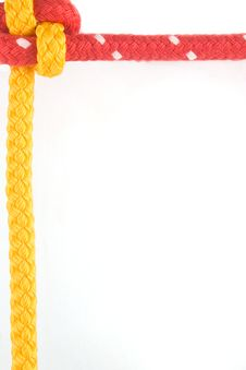 Free Border Created From Japanese Bend Royalty Free Stock Image - 1955456