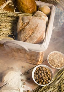 Free Bread Mix Royalty Free Stock Images - 1955479