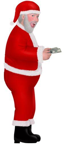 Free Rich Santa Stock Image - 1955961