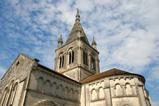 Historic Church In France Royalty Free Stock Photos