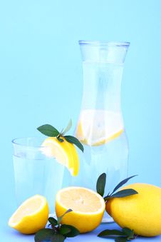 Free Water Lemon Royalty Free Stock Photo - 1956955