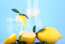Free Water Lemon Stock Image - 1956991