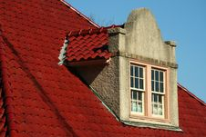 Free Spanish Tile Dormer Roof Royalty Free Stock Photography - 1958137