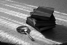 Free Stack Of Books Stock Photography - 1959152