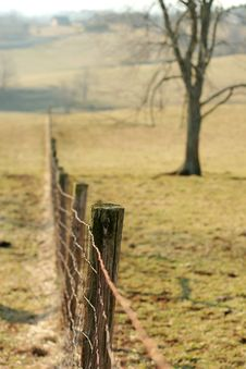 Free Wire Fence Stock Photo - 1959580