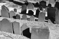 Free Old Graves In Bright Sunlight Stock Photography - 1959832