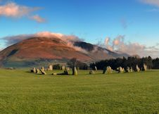 Stone Circle Stock Photography