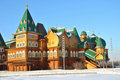 Free Wooden Palace In Kolomenskoe, Moscow, Russia Stock Images - 19507054