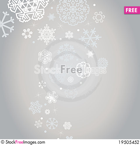 Winter background2 Cartoon Illustration