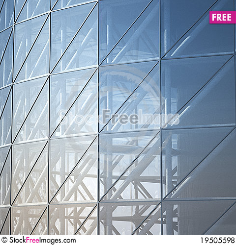 Free Abstract Architecture Wall Royalty Free Stock Photos - 19505598
