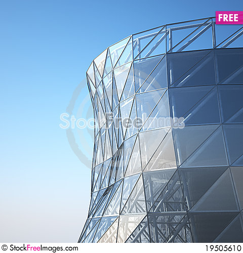 Free Abstract Architecture Wall Stock Photo - 19505610