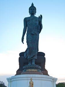 Buddha Statue At Phutthamonthon , Thailand Stock Image