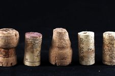 Free Wine Corks 2 Stock Photography - 19500422