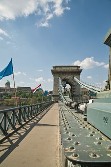 Free The Chain Bridge Royalty Free Stock Photography - 19501197
