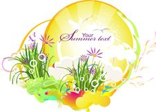 Free Summer Background Royalty Free Stock Photography - 19501207