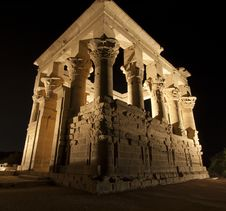 Kiosk Of Trajan At The Temple Of Isis Royalty Free Stock Image