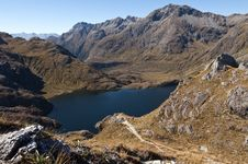 Free Lake Harris - Routeburn Track Royalty Free Stock Images - 19502519